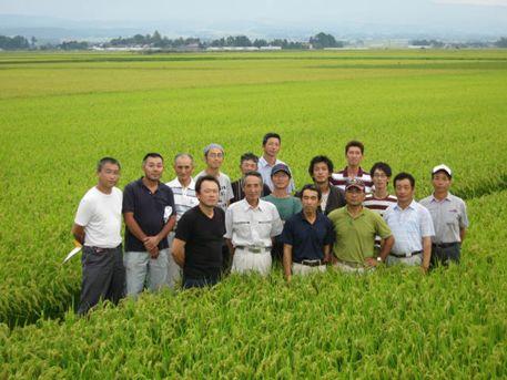 2011年9月9日(撮影)米部会圃場巡回
